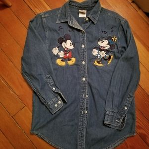 Disney store,Mickey Minnie dancing,button down